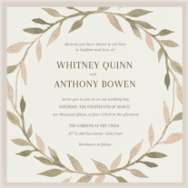 Floralia Wedding Invitation