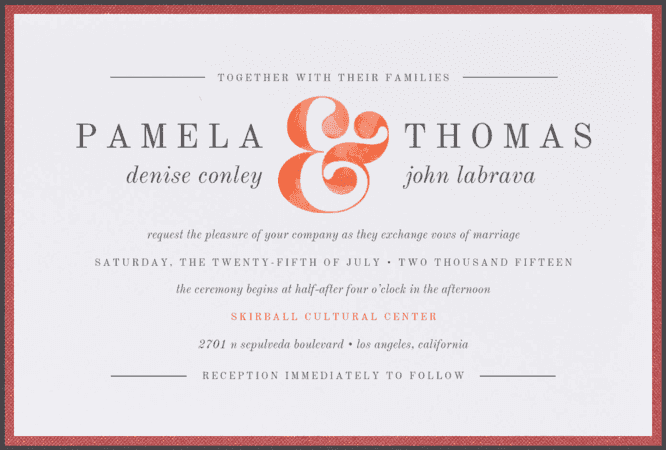 Tie Dye Crush Wedding Invitation