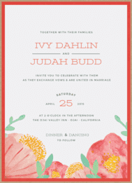 Seed Pack Bliss Wedding Invitation