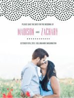 Doiley Save The Date Wedding Invitation