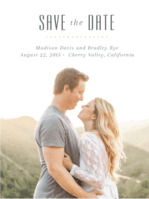 Peony Garden Save The Date Wedding Invitation