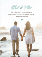 Whale of a Tale Save The Date Wedding Invitation