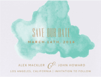 Daydream Save The Date Wedding Invitation