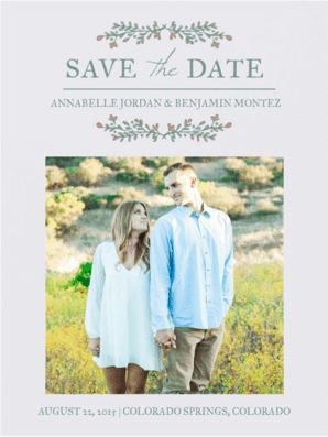 Sage Brush Wings Save The Date Save the Date