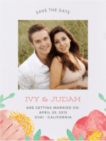 Seed Pack Bliss Save The Date Wedding Invitation
