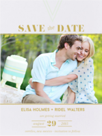 Off the Grid Save The Date Wedding Invitation