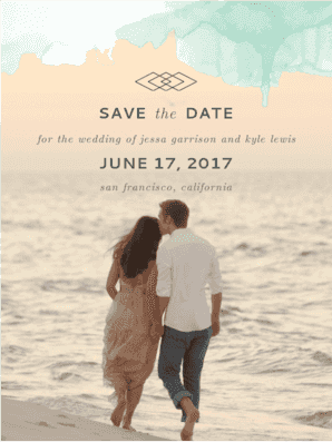 Serendipity Save The Date Save the Date
