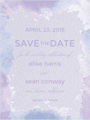 Sincerely Yours Save The Date Save the Date