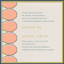 The Perfect Pear Wedding Invitation