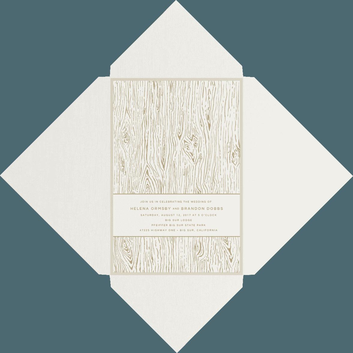 Wood Grain - Envelopments