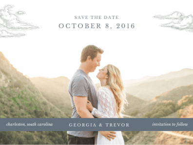 Love is in the Air Save the Date Save the Date