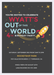 Out of this World Wedding Invitation