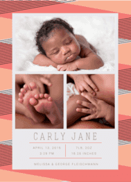 Baby Makes Three Wedding Invitation