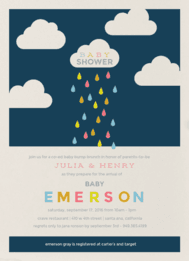 On Cloud Nine Wedding Invitation
