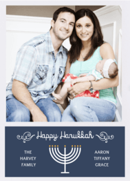 Menorah Love Wedding Invitation