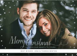Baby It's Cold Outside Wedding Invitation