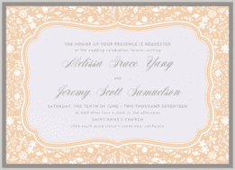 French Country Wedding Invitation