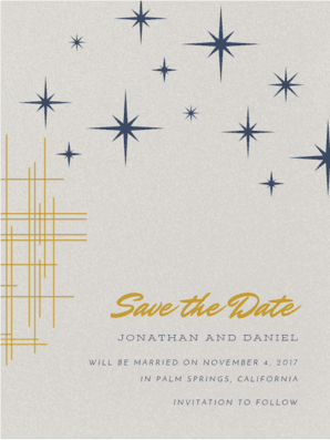 Star Dust Save the Date Save the Date