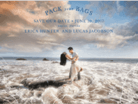 Island Hopper Save The Date Wedding Invitation