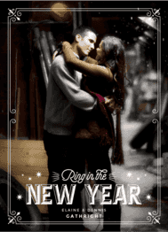 New Year Newlyweds Wedding Invitation