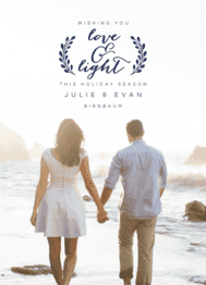 Love & Light Wedding Invitation