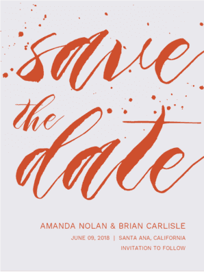 Always and Forever Save the Date Save the Date