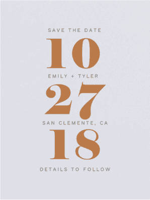 Duly Noted Save the Date Save the Date