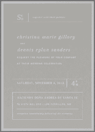 Lofty Pursuit Wedding Invitation