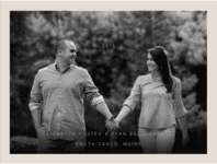 Open Arms Save the Date Wedding Invitation