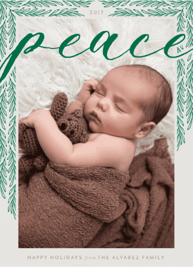 Peace Offering Holiday Card