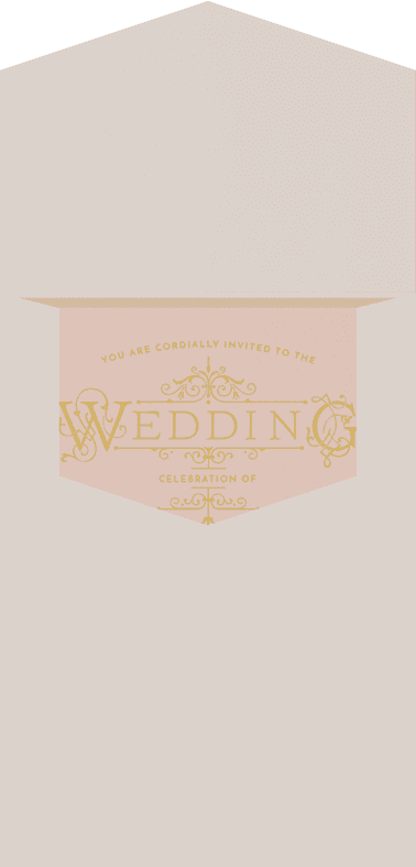 French Quarter Wedding Invitation