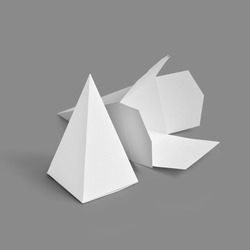 Favor Containers - Pyramid