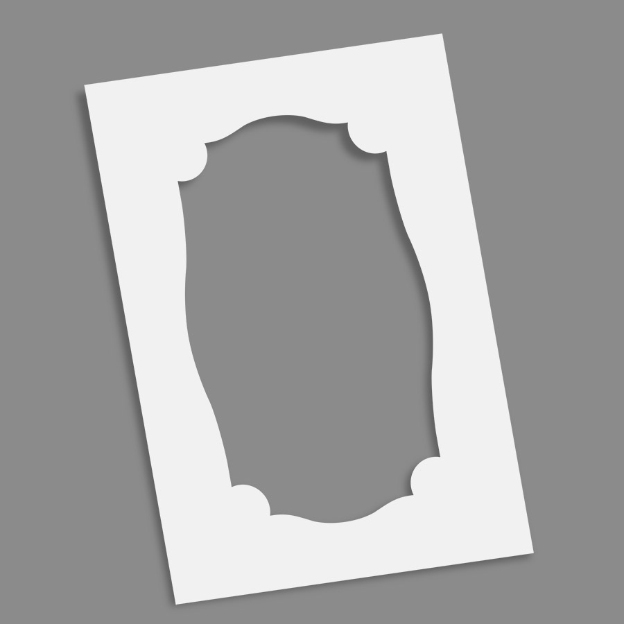 Frame - Crest 6x9 - Envelopments