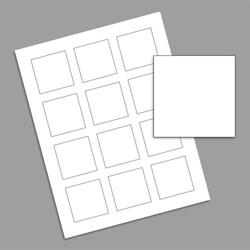 Labels - Square - 2 x 2